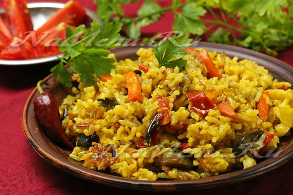 Рецепт супа с рисом постный
