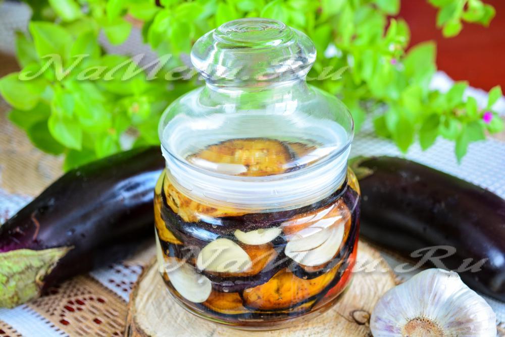баклажаны на зиму без помидор рецепты приготовления