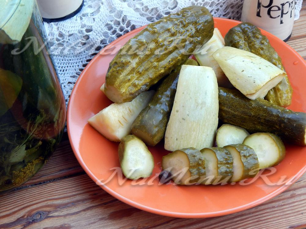 Огурцы по-болгарски рецепт