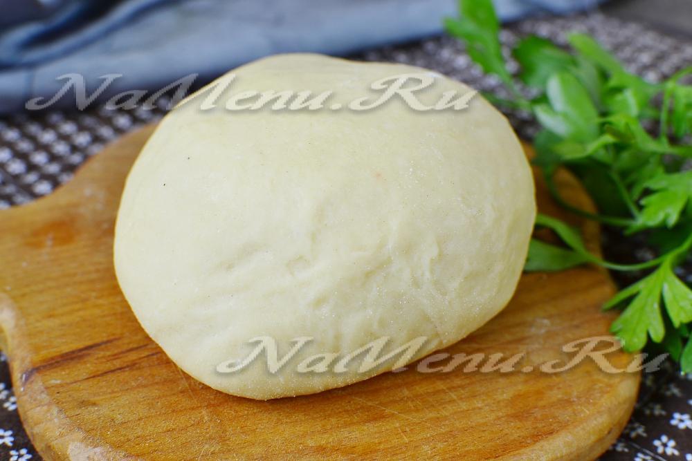 Тесто на манты рецепт с фото