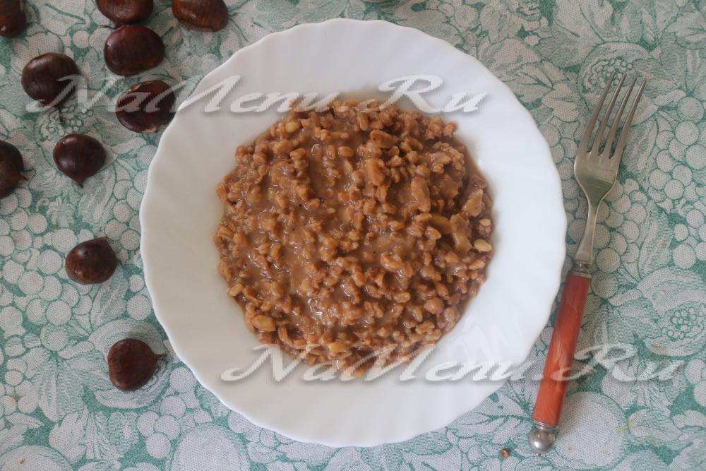 Полба рецепты пошагово