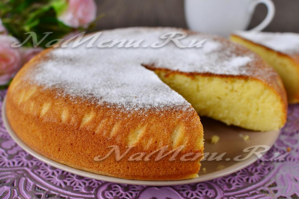 Пирожки в духовке на кефире пошаговый рецепт