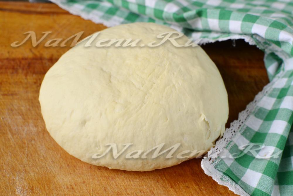 Тесто для торт на дрожжах