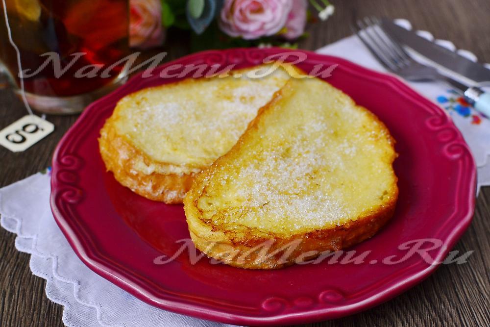 Как приготовить вкусные гренки из белого хлеба