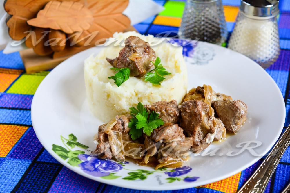 жареная куриная печень рецепты приготовления