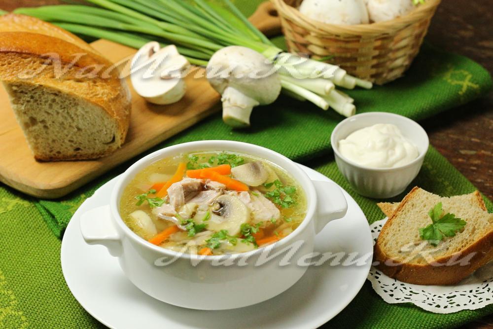 суп с картофельный рецепт с мясом свинины