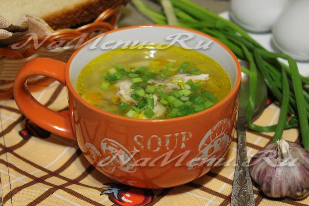 суп из утки рецепты с клецками рецепт
