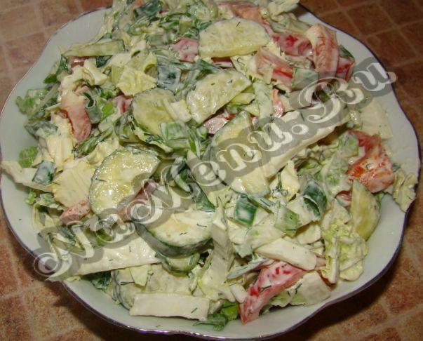 Салат из капусты с рисом на зиму
