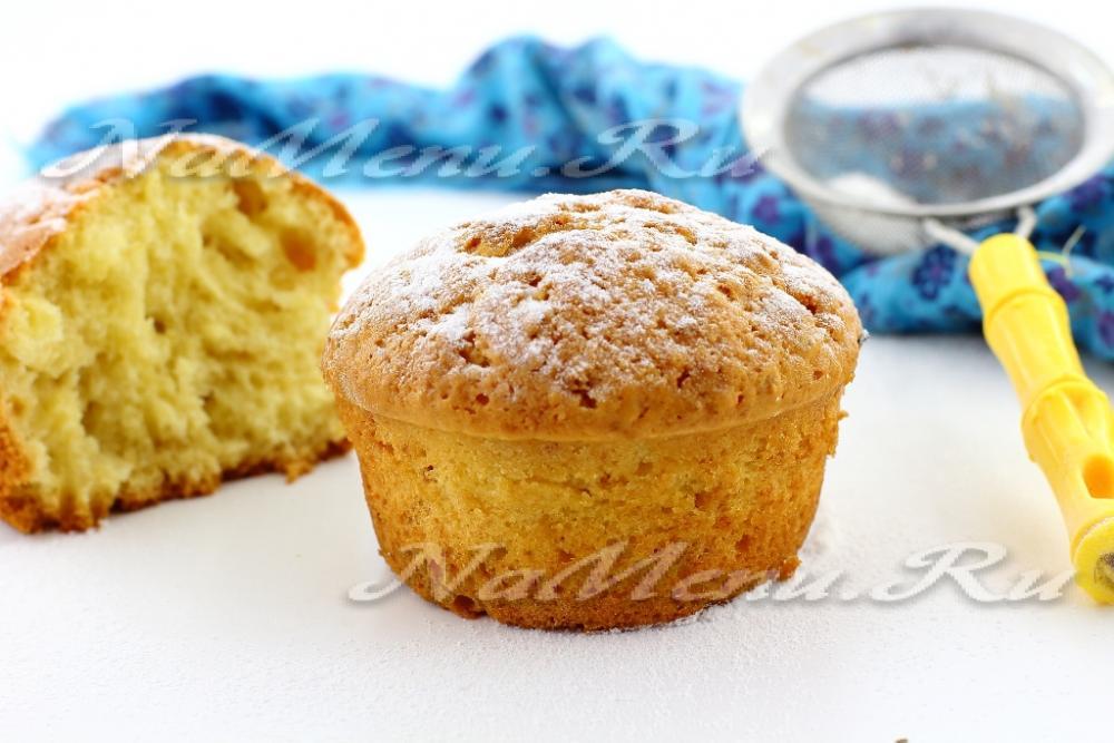 как испечь кекс творожный в духовке рецепт