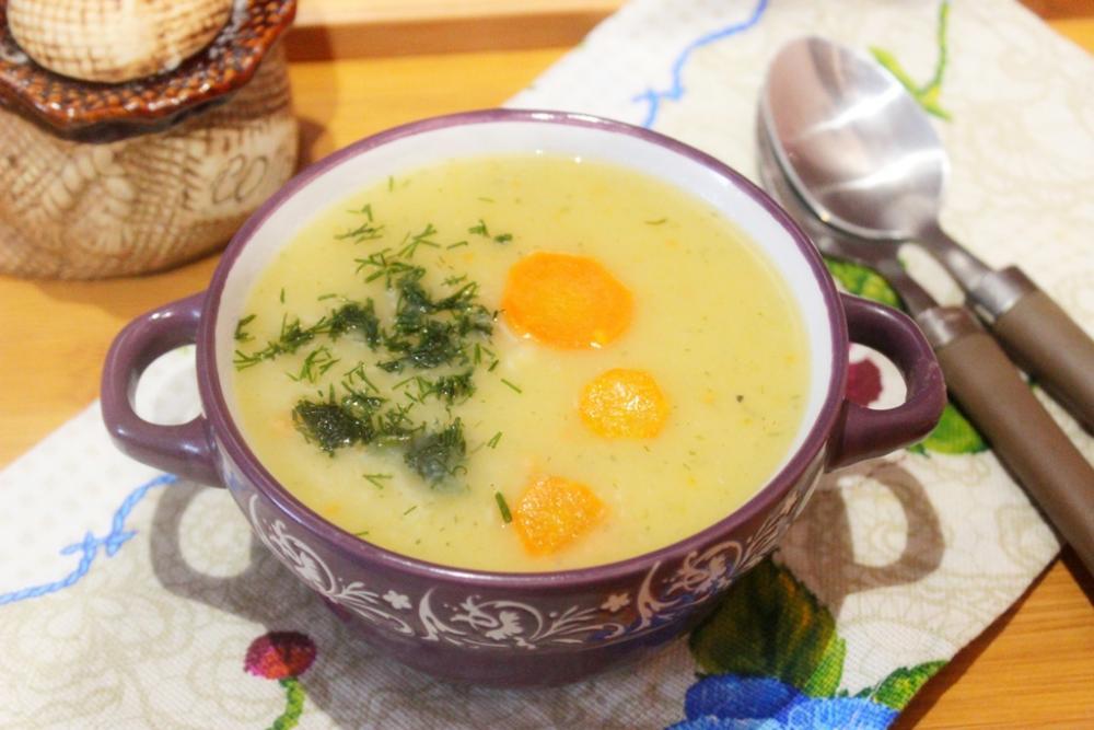 Суп-пюре из картофеля на бульоне рецепты