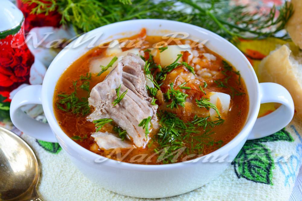 Рецепт приготовления супа харчо из свинины пошаговый рецепт