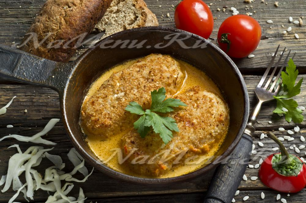 голубцы рецепт с рисом и фаршем в кастрюле с фото пошагово