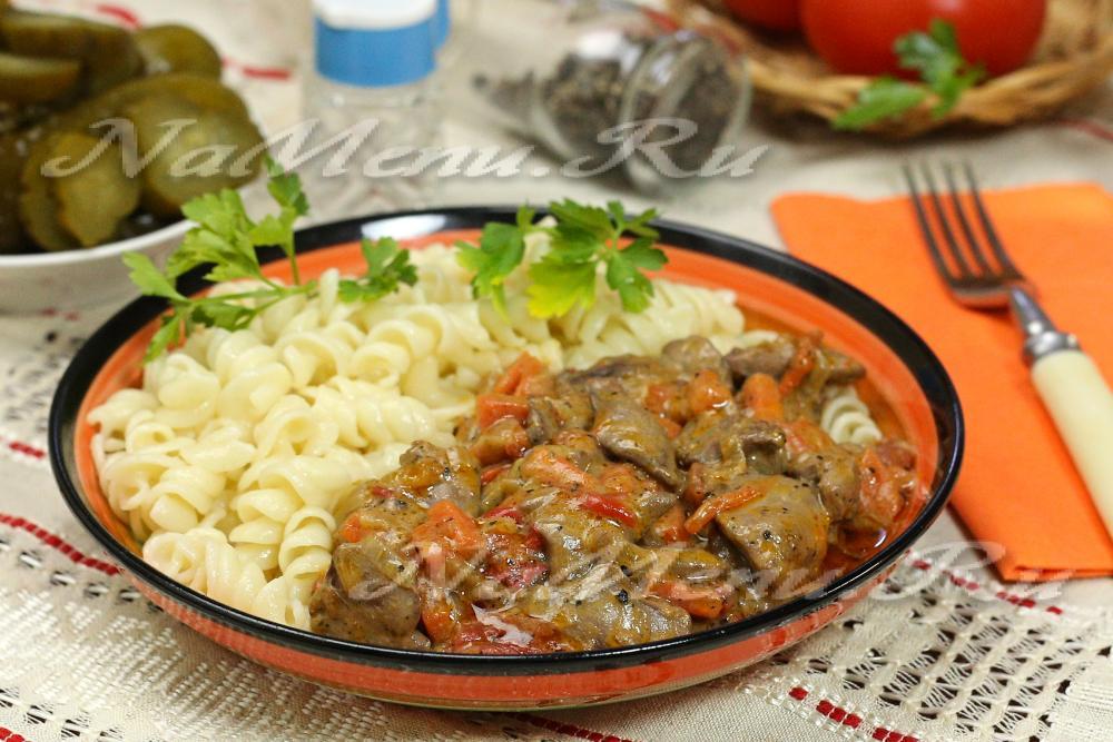 рецепт рис с печенью пошагово с фото