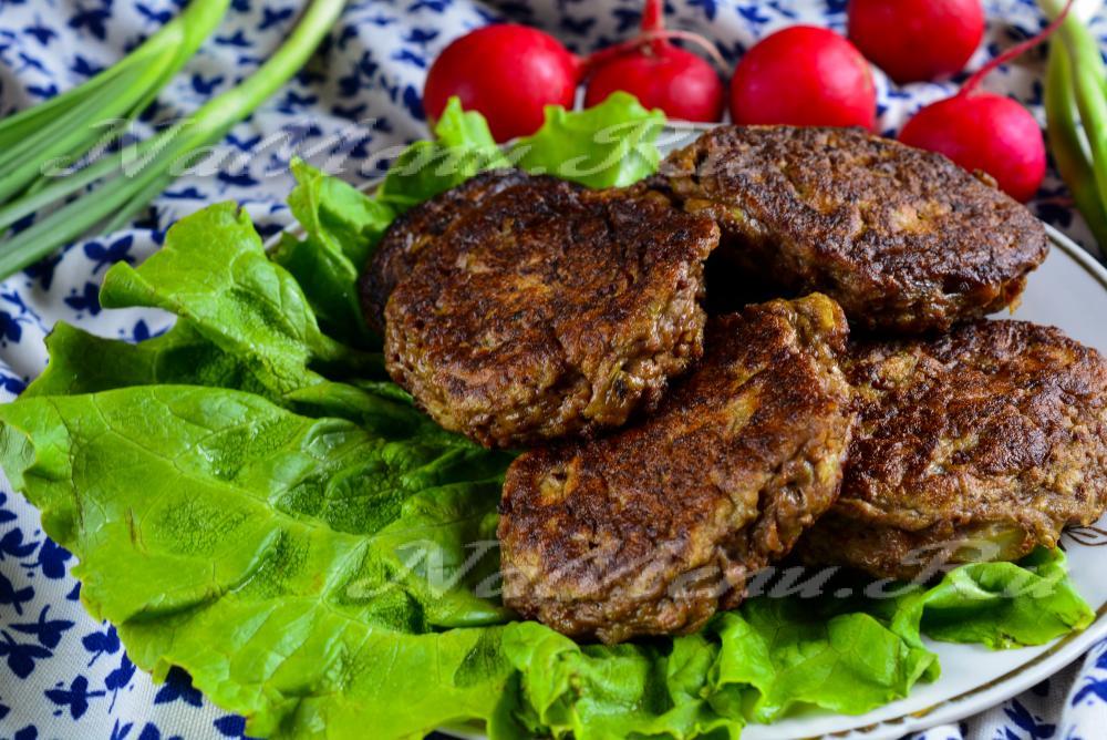 оладьи из говяжьей печени рецепт в домашних условиях