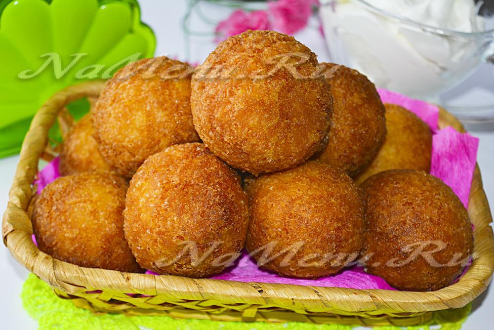 Творожные пончики масле рецепт фото