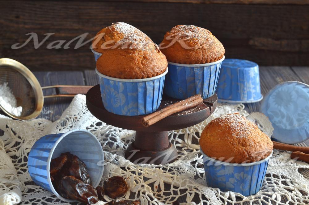 Кексы в бумажных формочках рецепт пошагово