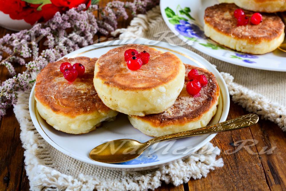сырники из творога и творожной массы рецепт с фото пошагово