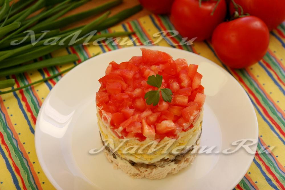 Красный салат рецепт с