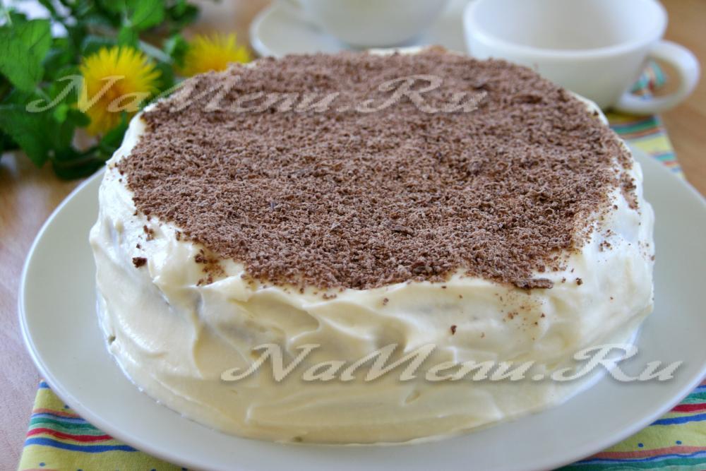 Классический рецепт торта сметанника