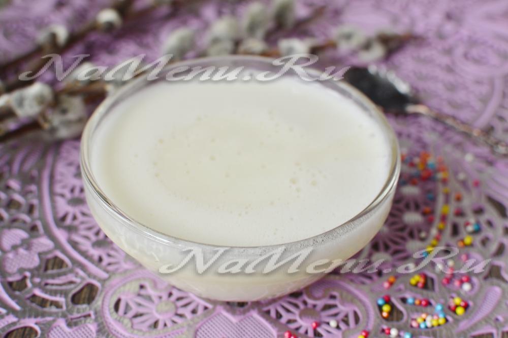 Молочная глазурь рецепт фото
