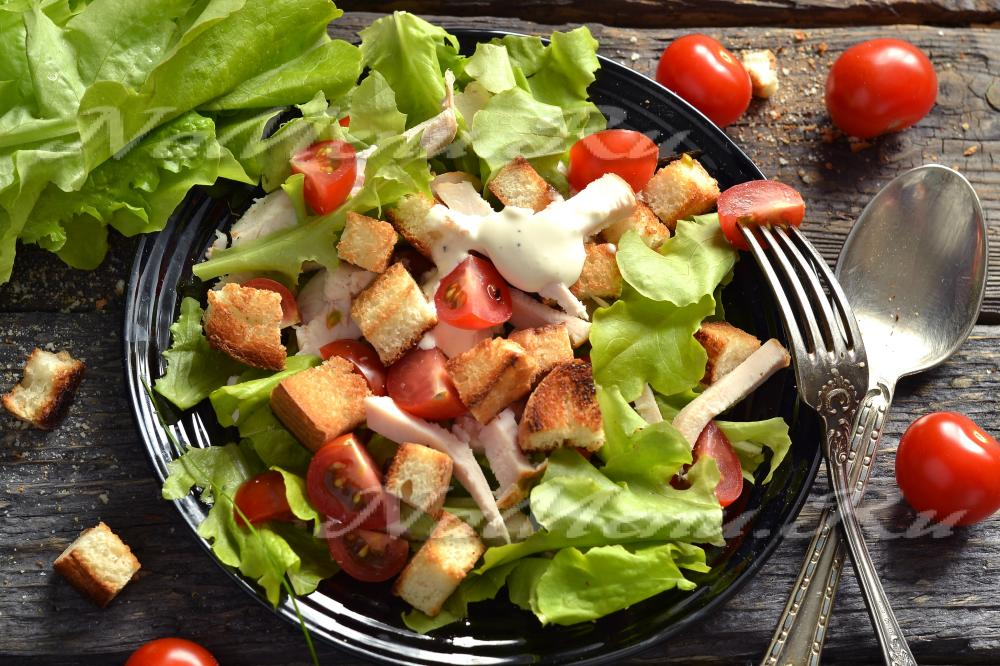 Цезарь салат своими руками 59