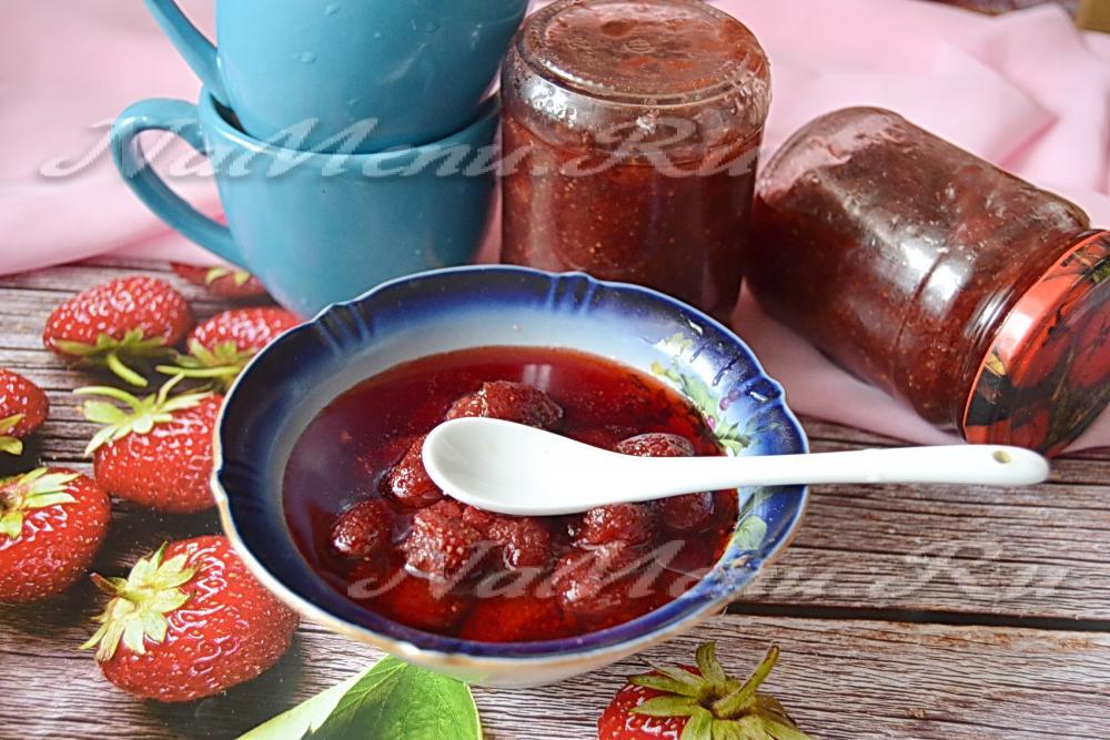 Рецепт варенье из клубники быстро