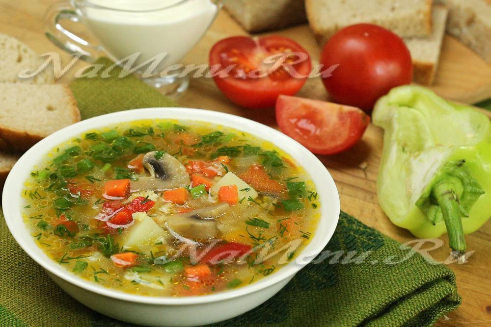 суп с пшеном и курицей рецепт с фото пошагово