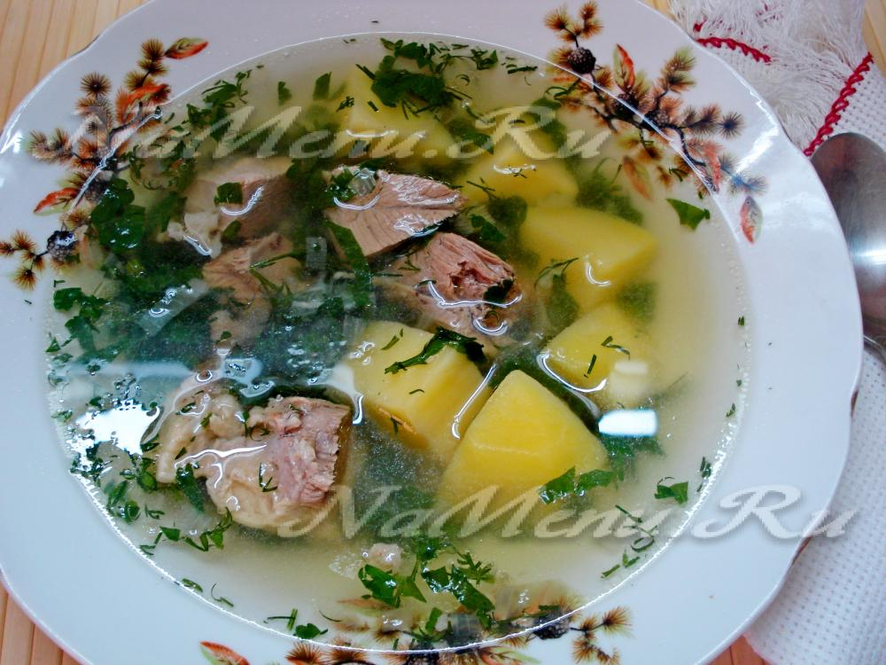 Бурятские супы рецепты