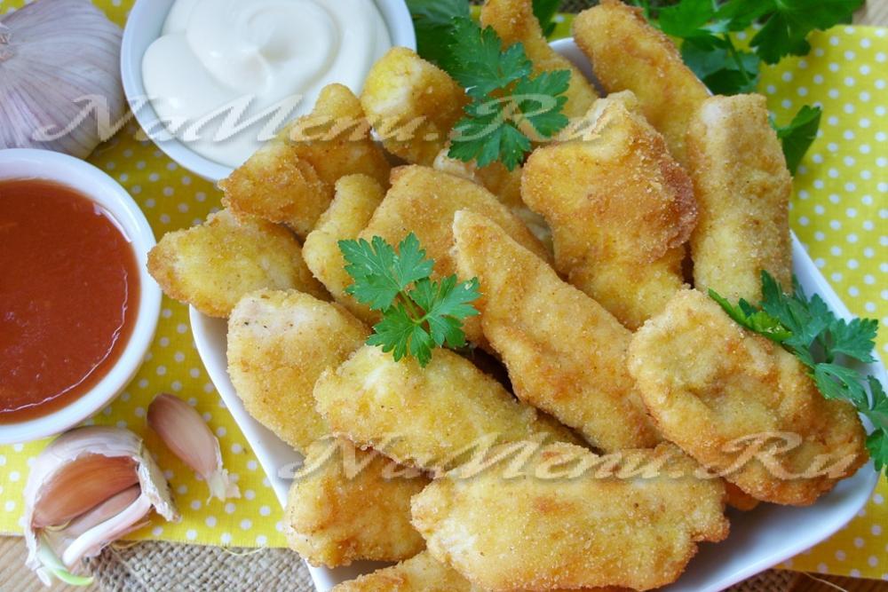 Рецепт наггетсы куриные в домашних условиях рецепт с фото