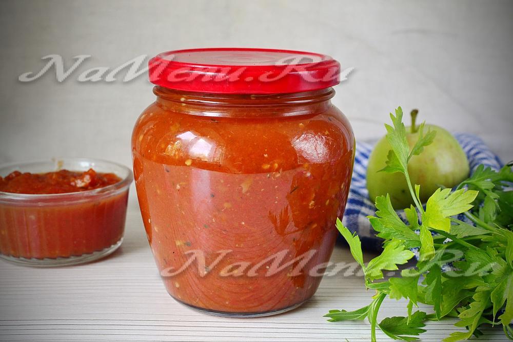 Вкусный кетчуп в домашних условиях с помидоров 968