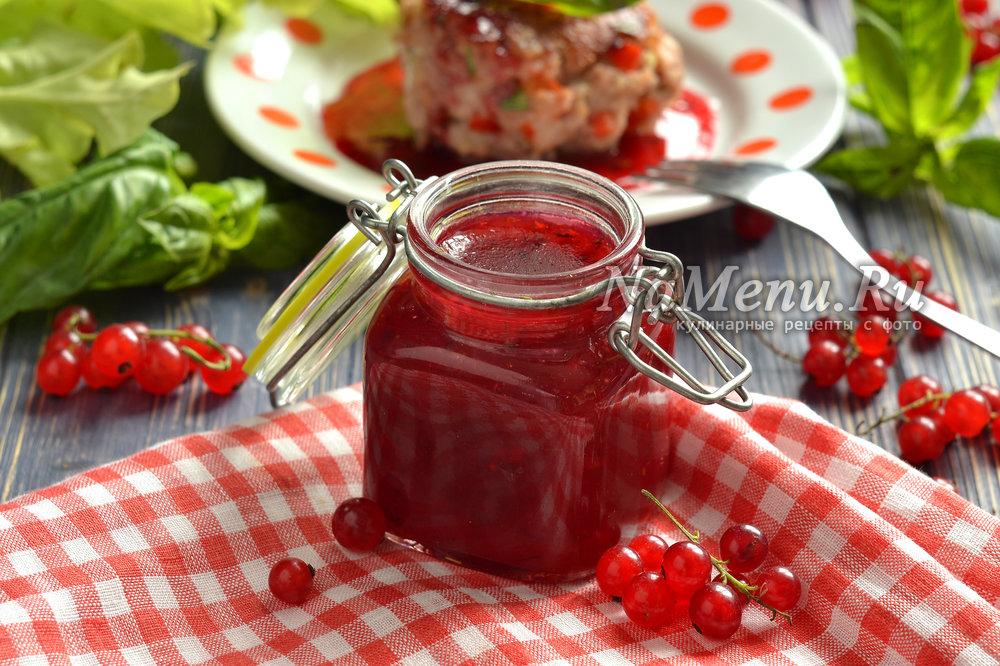 Кетчуп из красной смородины