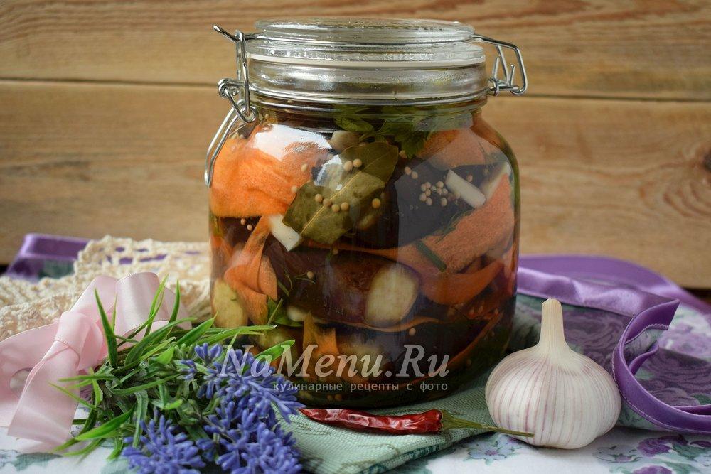 баклажаны и кабачки на зиму рецепты приготовления без уксуса