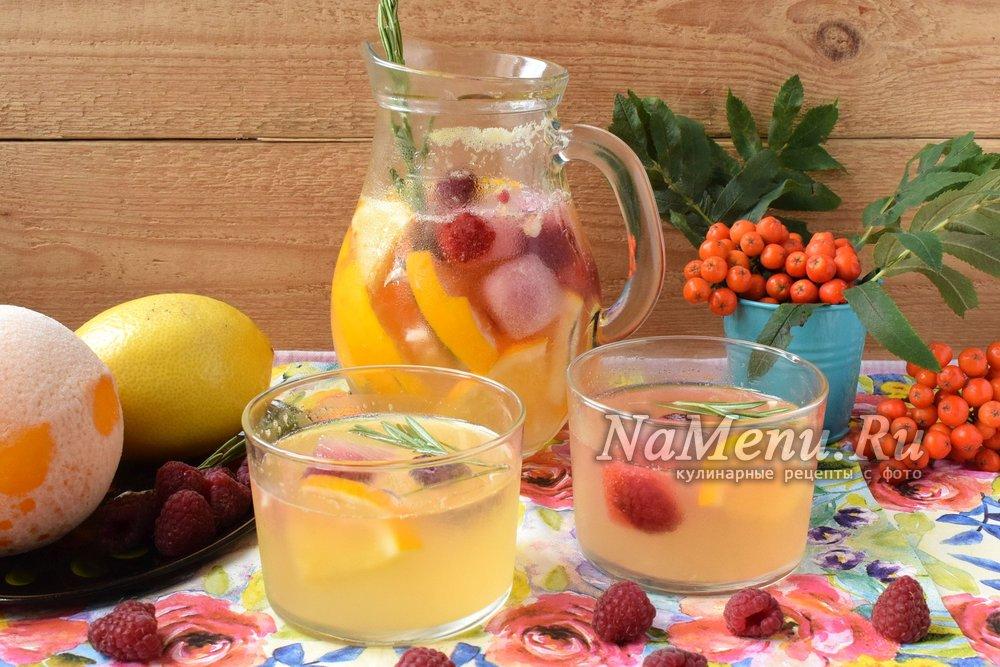 Домашний лимонад из апельсинов рецепт