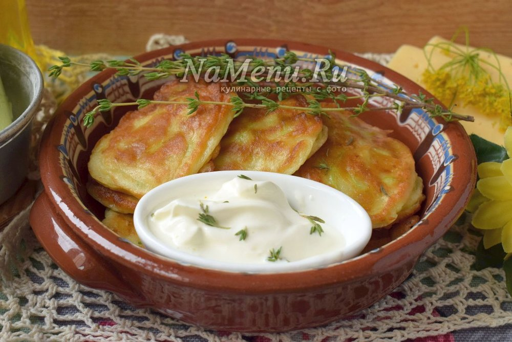 Рецепт оладьи из кабачков с кефиром рецепт