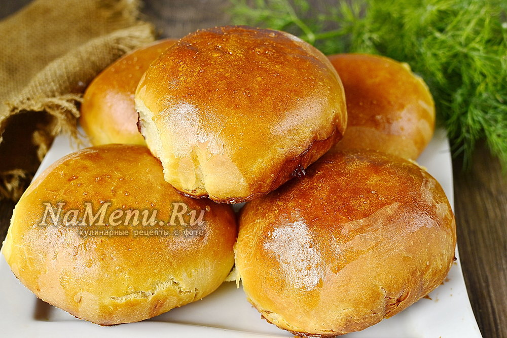 Пирожки с мясом в духовке пошаговый рецепт с фото из готового теста