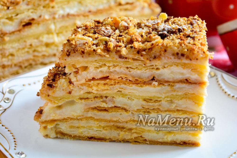 Торт рецепт с заварным кремом рецепт с фото пошагово