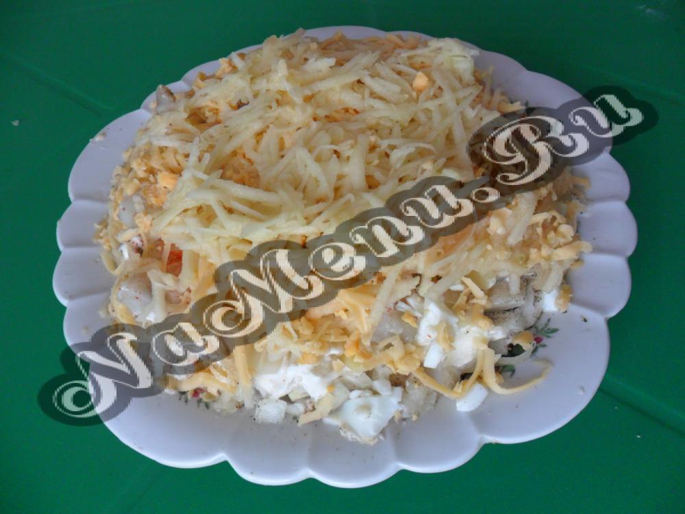Рыбный салат с картофелем: выбираем любимый рецепт