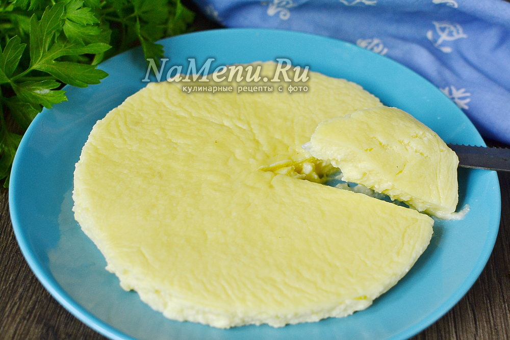 Домашний сыр из творога рецепт с пошагово без масла
