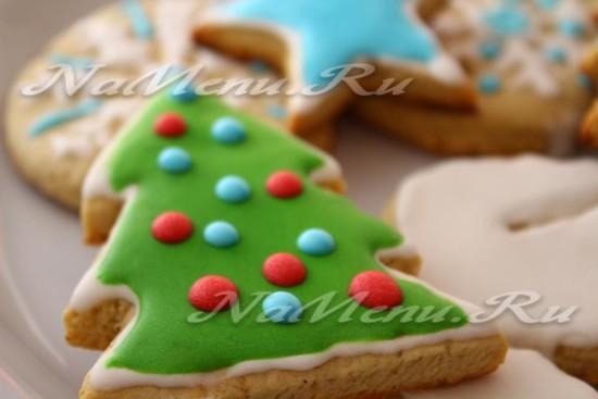 Рождественское печенье имбирное