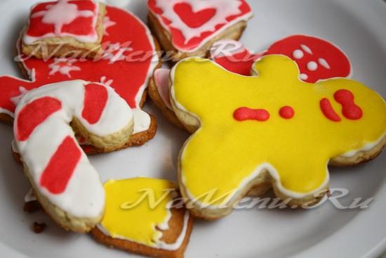Глазурь для рождественского печенья