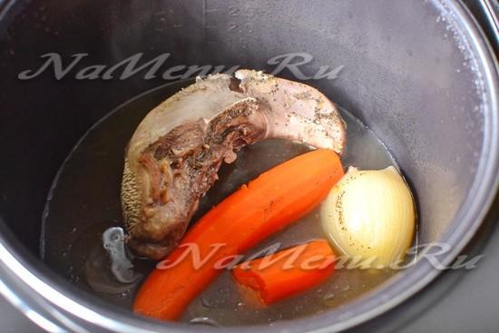 Рецепты язык свиной в мультиварке