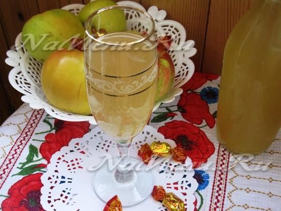 Разливаем яблочный сидр по бутылкам