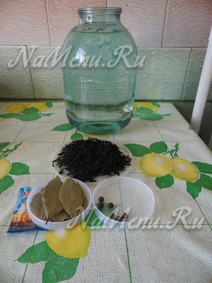 ингредиенты для домашнего коньяка