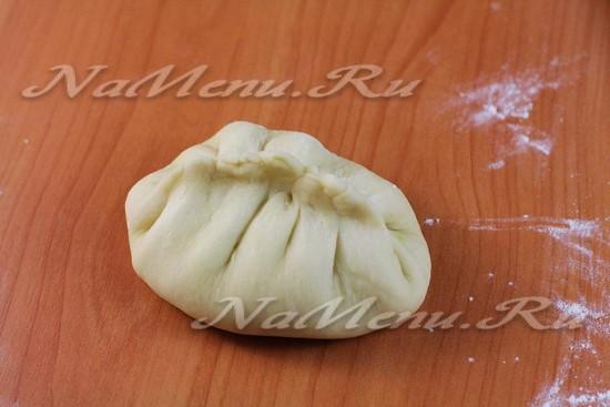 Корейские пирожки пян-се на пару с мясом и капустой: рецепт с фото