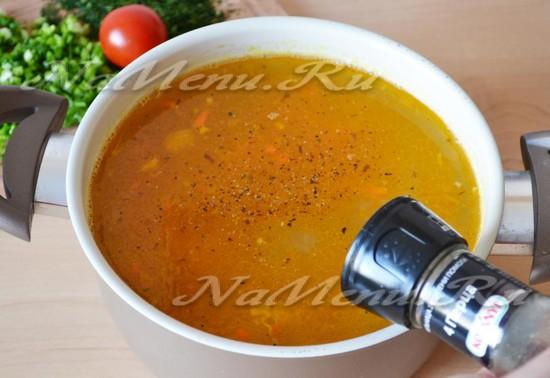 Рыбный суп из консервов с пошаговым рецептом и