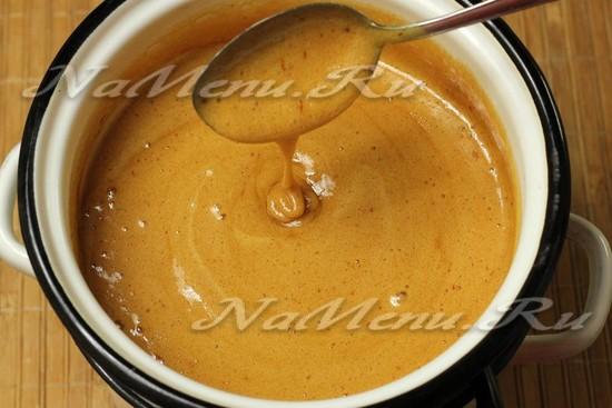 варить до густоты и коричневого цвета
