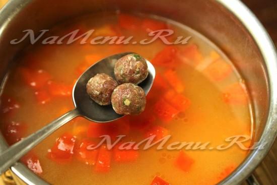 Рецепт супа с клёцками с пошаговым