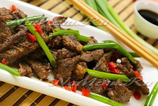рецепт говядины по-корейски
