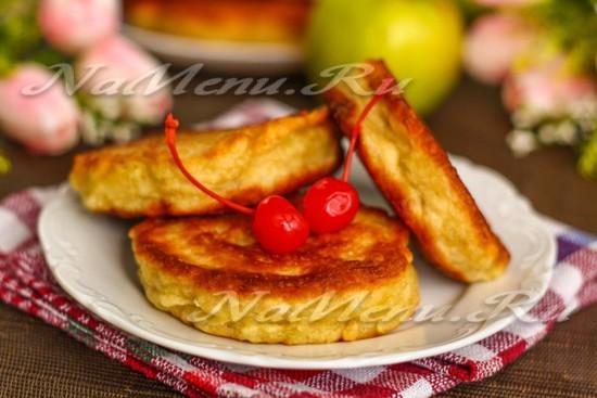 Пышные оладьи на кефире: лучший рецепт с фото пошагово