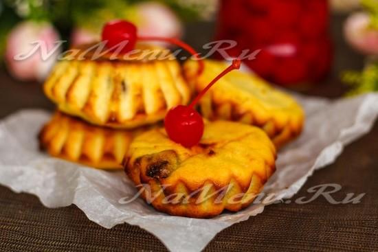 Сырники с манкой, запеченные в духовке